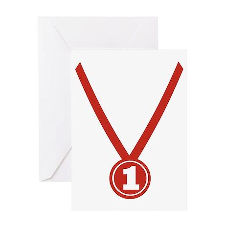 Medal - Champion Greeting Card