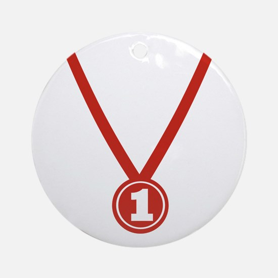 Medal - Champion Ornament (Round)