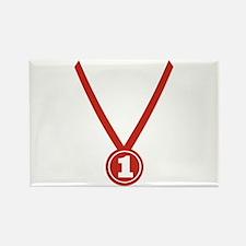 Medal - Champion Rectangle Magnet