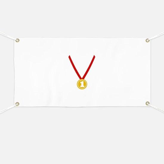 Gold Medal - Winner Banner