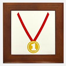 Gold Medal - Winner Framed Tile