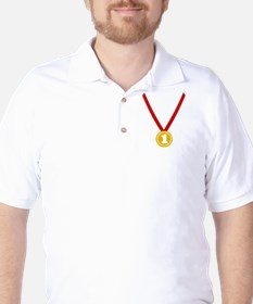 Gold Medal - Winner Golf Shirt
