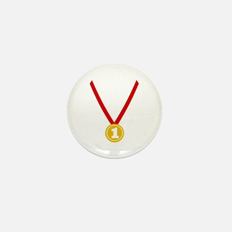 Gold Medal - Winner Mini Button