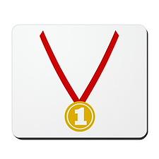 Gold Medal - Winner Mousepad