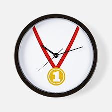 Gold Medal - Winner Wall Clock
