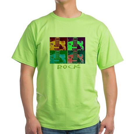 Green neon guitars T-Shirt