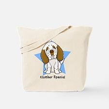 Star Kawaii Clumber Spaniel Tote Bag