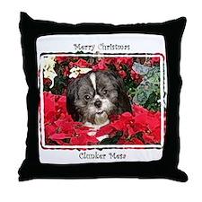 Clunker Mesa Christmas Throw Pillow