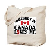 Canada Regular Canvas Tote Bag