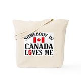 Canada Canvas Bags