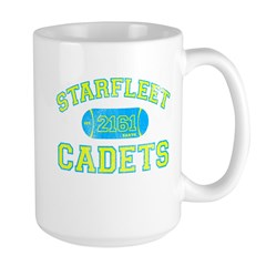 Baby Blue STARFLEET Cadet Athletics Mug