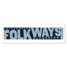 Smithsonian Folkways Bumper Bumper Sticker