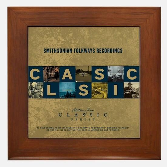 Classic Sampler Framed Tile