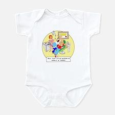 ... little sucker is really i Infant Bodysuit
