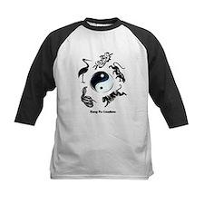 5 animal Kung Fu logo Tee