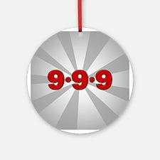 999 Ornament (Round)