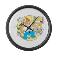 IRS Large Wall Clock