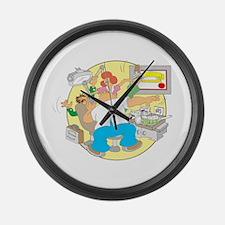 IRS Large Wall Clock