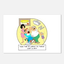 ... this is liable to tingle Postcards (Package of