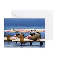 2 Stearman Greeting Card