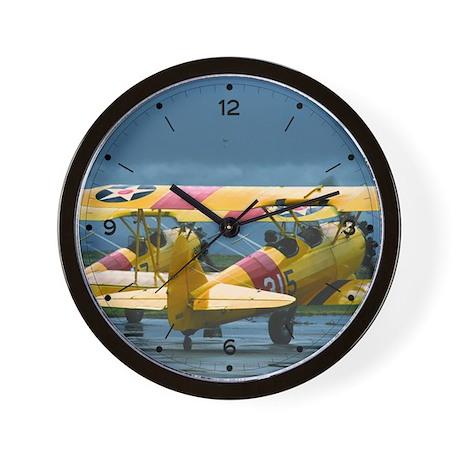 2 Stearman Wall Clock