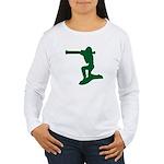 army guy Women's Long Sleeve T-Shirt