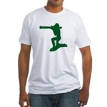 army guy Fitted T-Shirt