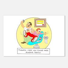 ... Mrs. Bundy's teeth. Postcards (Package of 8)