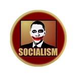 "Socialism Joker 3.5"" Button"