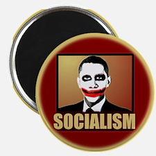 """Socialism Joker 2.25"""" Magnet (100 pack)"""