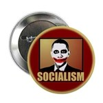 "Socialism Joker 2.25"" Button (10 pack)"