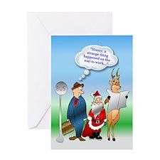 Enjoy the Season Greeting Card
