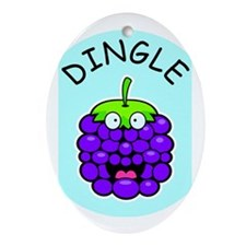 Dingle Berry Oval Ornament