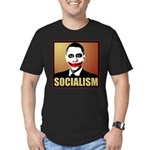Socialism Joker Men's Fitted T-Shirt (dark)