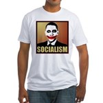 Socialism Joker Fitted T-Shirt
