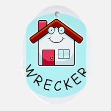 Home Wrecker Oval Ornament