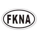 FKNA Euro Oval Sticker