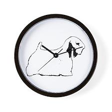 Sealyham Terrier Wall Clock
