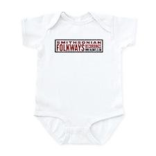 Smithsonian Folkways Infant Bodysuit
