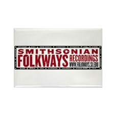 Smithsonian Folkways Rectangle Magnet