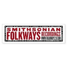 Smithsonian Folkways Bumper Sticker
