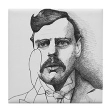 G.K. Chesterton Tile Coaster