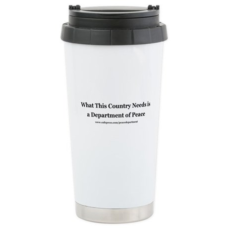 Peace Department Stainless Steel Travel Mug