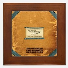 Bound for Glory Framed Tile