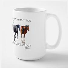 Hay Butts Large Mug