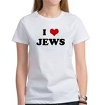 I Love JEWS Women's T-Shirt