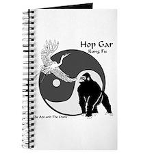 Hop Gar Kung Fu Logo Journal