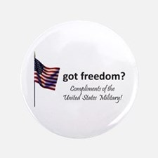 """Got Freedom 3.5"""" Button (100 pack)"""