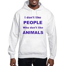 I dont like people! Hoodie