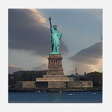 Liberty Clouds Tile Coaster